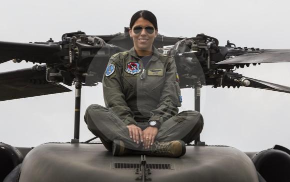 Mientras recibió entrenamiento para volar Black Hawk permaneció en la base de Rionegro. Seguirá allí.