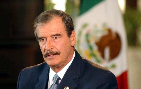 Vicente Fox fue presidente de México entre 2000 y 2006. Hoy es el símbolo de la defensa de México frente a Donald Trump. FOTO ap