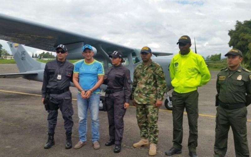 José Didier Cadavid Salgado es señalado como uno de los 'capos' de la minería ilegal en el suroccidente colombiano. FOTO Colprensa - Fiscalía General de la Nación