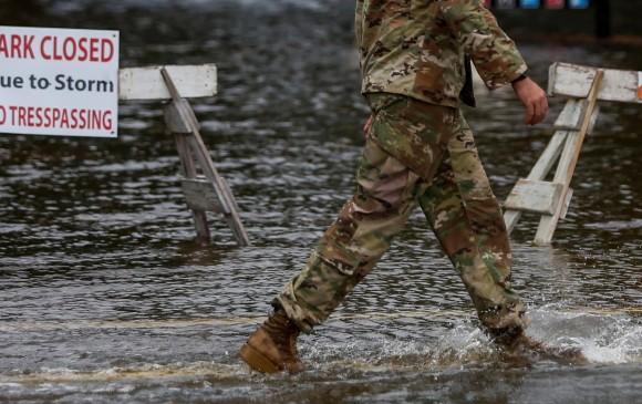 Carolina del Norte será en donde el huracán Florence toque tierra. Foto Reuters
