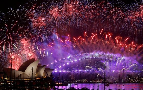 Año Nuevo en Sídney, Australia. FOTO Reuters