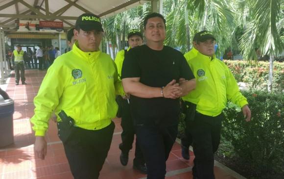 Jhon Calzones', alcalde electo de Yopal, fue trasladado a la cárcel de su ciudad
