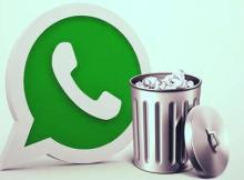 eliminar mensaje de whatsapp