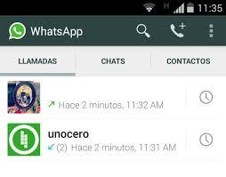 Cómo activar llamada en WhatsApp