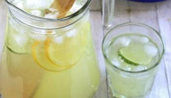 como hacer limonada casera