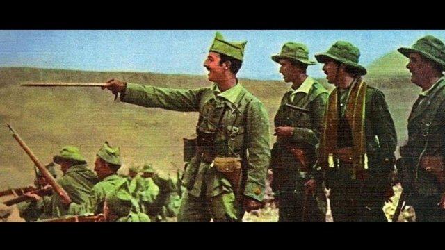 Francisco Franco, en una imagen coloreada de su etapa en la Legión.