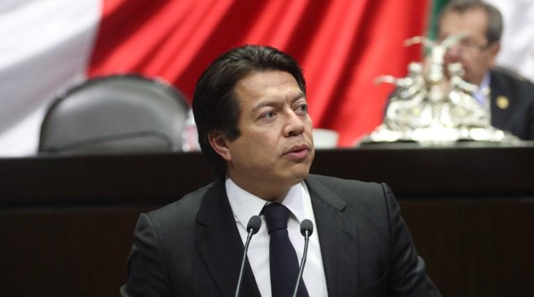 Mario Delgado, lider de la bancada de Morena en la Cámara de Diputados