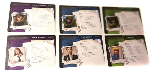 Imagen de los personajes de Bomb Squad