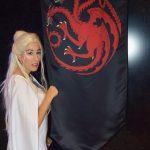 Helena, miembro de Fanvention. Daenerys Steampunk