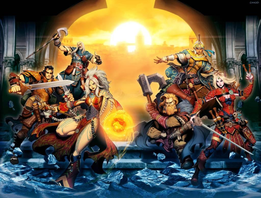 Principales personajes de Pathfinder por Genzoman