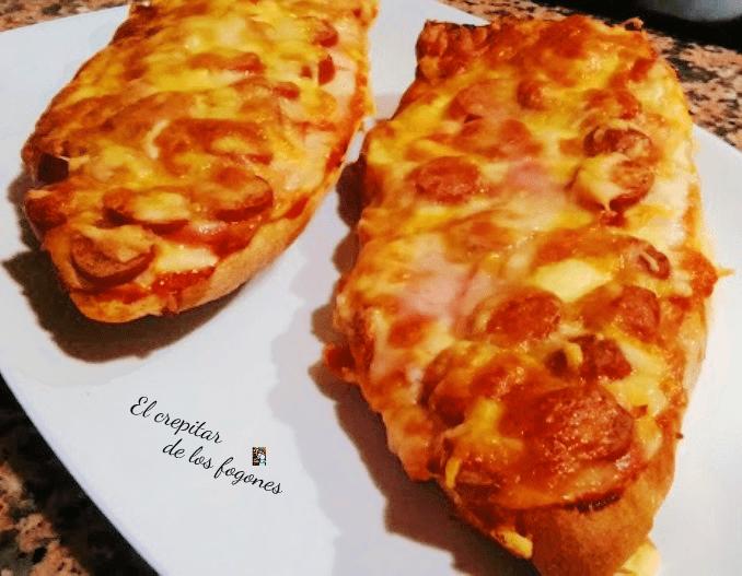 PAN PIZZA O PIZZA DE PAN