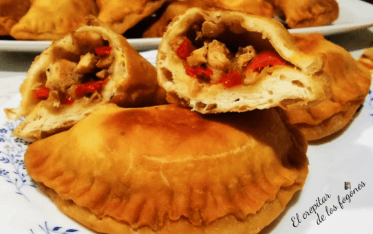 empanadillas de pollo