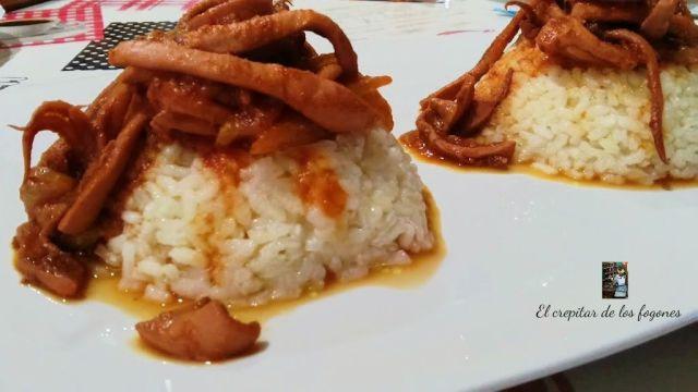 platos con arroz