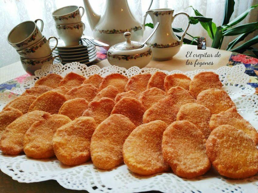 TORTITAS DE CALABAZA (Receta de Eva Arguiñano)