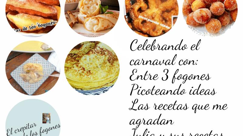POSTRES DE CARNAVAL (6 recetas irresistibles)