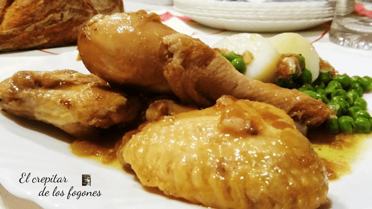 pollo guisado