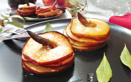 milhojas de manzana