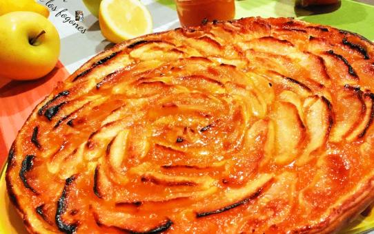 tarta de mermelada