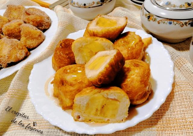 buñuelos de plátano