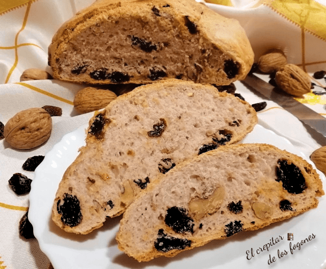 pan de nueces y pasas