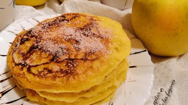 TORTITAS DE MANZANA