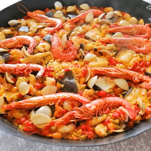ARROZ MARINERO CON RODABALLO