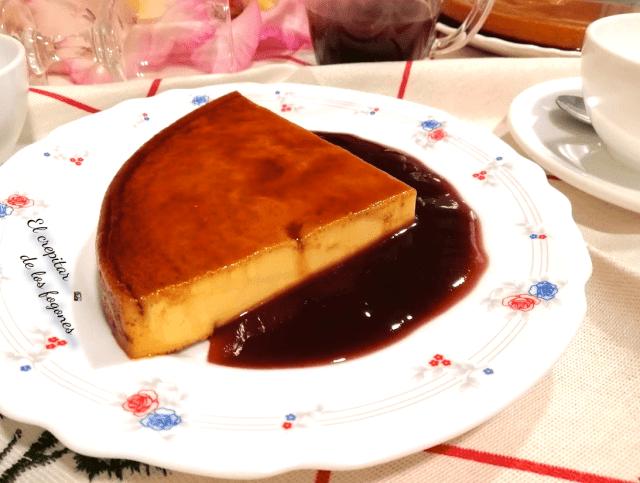 flan de queso mascarponee