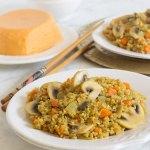 Quinoa con verduras y especies