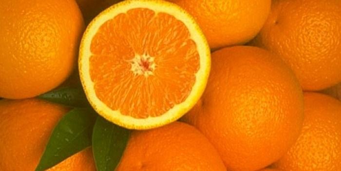 zumo de naranja natural para la piel