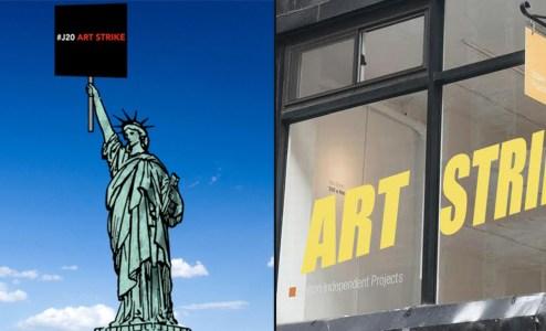 #J20 Art Strike