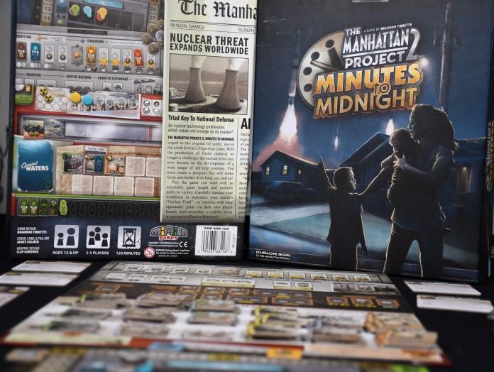 Manhattan Project 2 Minutes to Midnight español