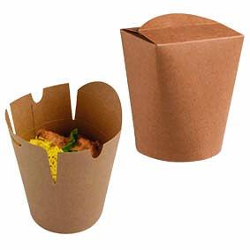 Delibox karton bruin