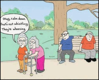 Senior Citizen Cartoons Merriment Humor Jokes And Fun And No