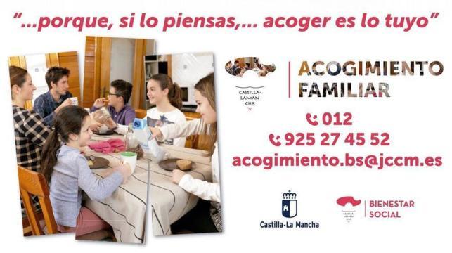 Acogida familiar Castilla-La Mancha
