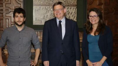 Antonio Estañ se estrena como interlocutor de Podemos con el Gobierno del Botánico