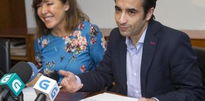 Beatriz Mato y José Manuel Rey, conselleira de Benestar durante el cierre y actual conselleiro de Política Social, respectivamente
