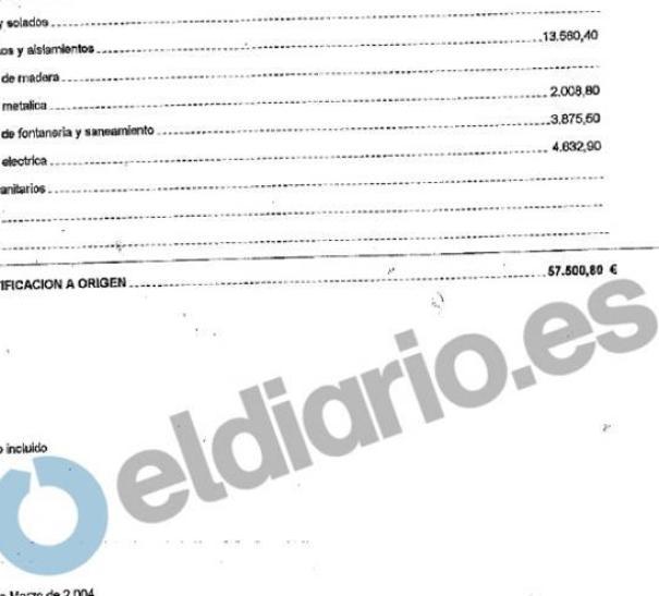 Certificado obra Rocío Monasterio.