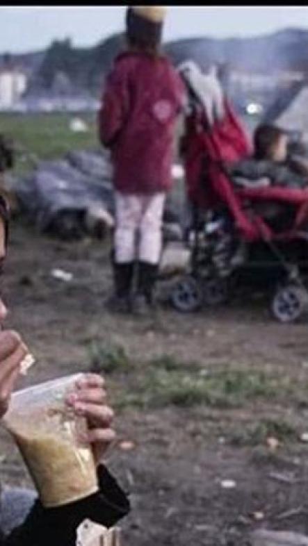 Niño en un campo de refugiados. 2015. Fotomovimiento.org