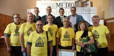 La Plataforma Antifracking del Campo de Montiel y La Mancha recibió en junio el I Premio de Medio Ambiente de Castilla-La Mancha