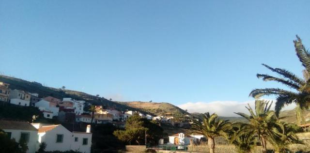 Pueblo de Arure, en la isla de La Gomera.