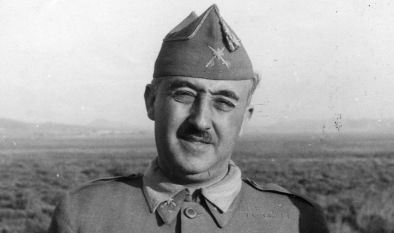 El dictador Francisco Franco