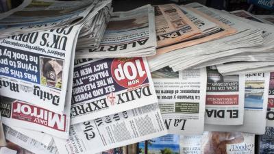 La prensa en papel sigue perdiendo lectores año tras año. | JOAQUÍN GÓMEZ SASTRE