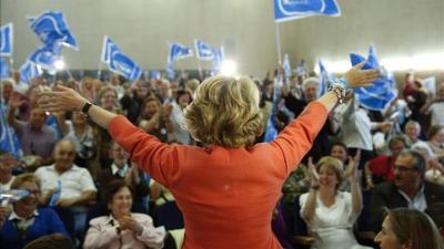 Aguirre avisa de que Podemos quiere gobernar para imponer un proyecto totalitario