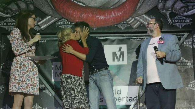 Carmena destaca repercusión mundial del Orgullo y Errejón dice que «no estará ni en Casa de Campo ni en el armario»