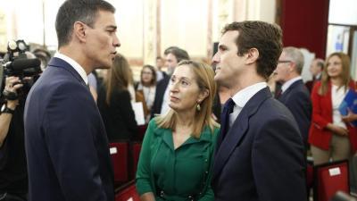 Casado pide a Sánchez la cuestión de confianza que éste exigió a Rajoy si no aprobaba los presupuestos