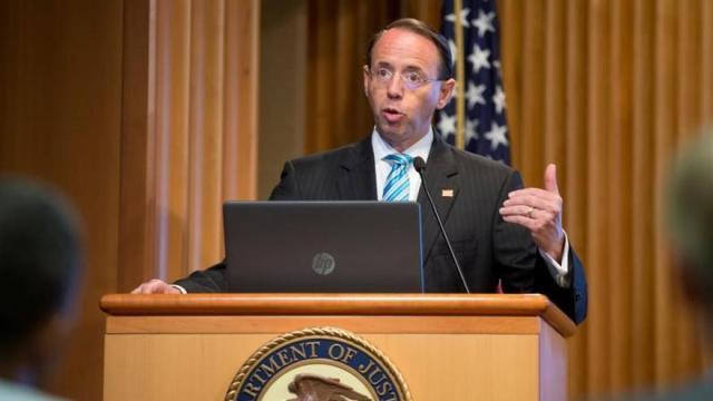 Dimite el «número dos» del Departamento de Justicia de EE.UU.