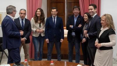 García Egea (PP) y Ortega (Vox) se reúnen esta tarde en Sevilla