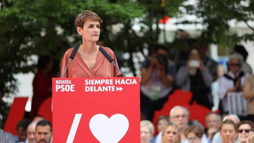 María Chivite iniciará la próxima semana la ronda de contactos para formar un «gobierno de progreso» en Navarra