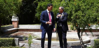 """Sánchez dice que su reunión con Torra es un """"punto de arranque constructivo"""""""