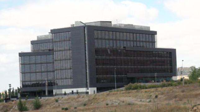 Edificio de la Junta de Castilla y León, en Arroyo de la Encomienda (Valladolid), sede de las empresas públicas.
